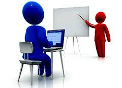 مقارنة بين التدريب الإلكتروني والتدريب التقليدي.